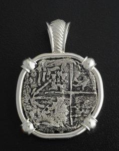 atocha shipwreck coin pendant