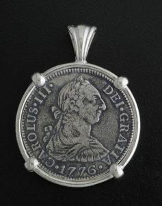 el cazador shipwreck coin penxdant