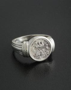 quartilla coin ring