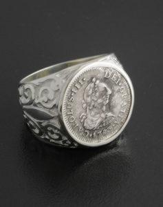 el cazador shipwreck coin ring