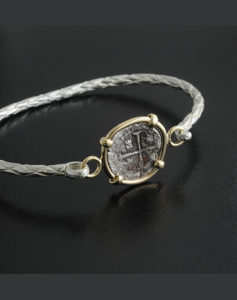 half real cob coin bracelet