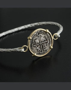 one real cob coin bracelet