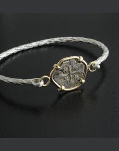 spanish cob coin bracelet