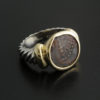 ancient widows mite coin ring