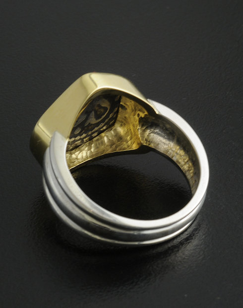 half reale cob coin ring