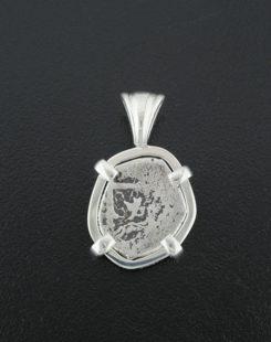 half real cob coin pendant