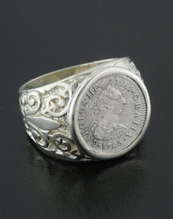 el cazador shipwreck coin ring