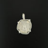 spanish cob one half real coin pendant