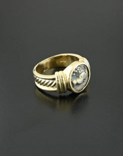 ancient greek hemidrachm ring