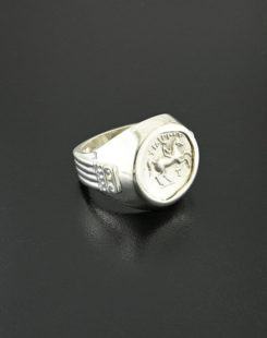ancient greek tetrobol ring