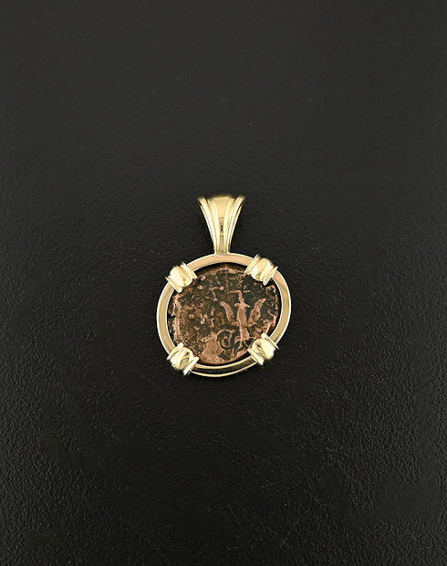 coin pendant in the bible