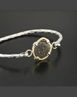 widows mite coin bracelet