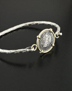 spanish shipwreck coin bracelet