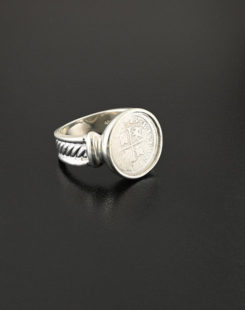 spanish cross half real ring
