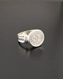 spanish cross half real ring