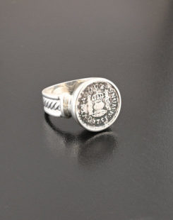 spanish pillar half real ring