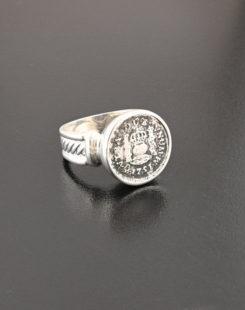 spanish pillar half real ring