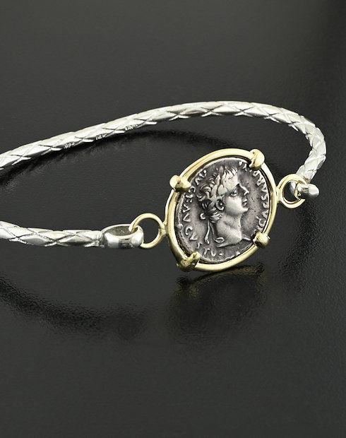 roamn imperial denarius bracelet