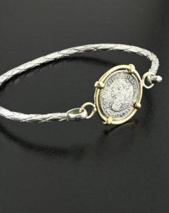 spanish bust half real bracelet