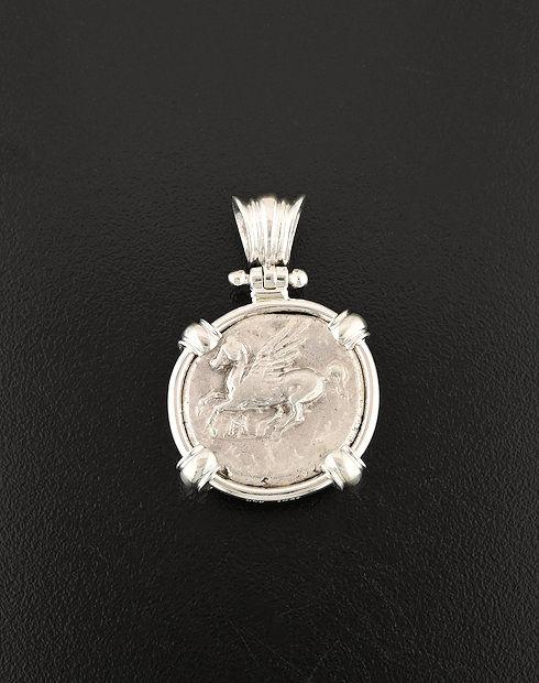 ancient greek pegasos pendant