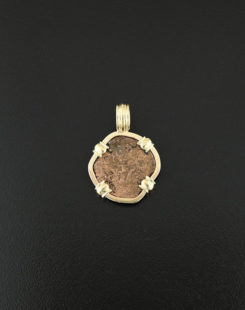 widows mite coin pendant