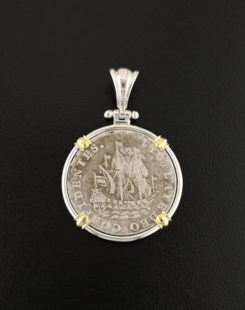 dutch coin pendant