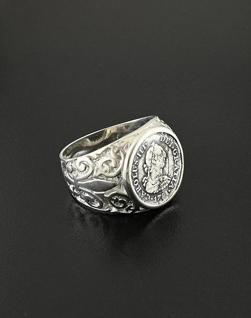 shipwreck coin ring