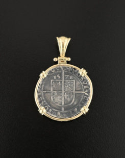 english sixpence coin pendant