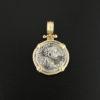 roman imperial denarius coin pendant