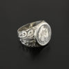 shipwreck el cazador half real coin ring
