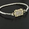japanese isshu gin coin bracelet