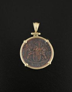 adiral gardner coin pendant