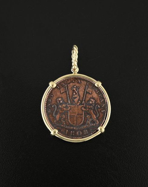 shipwreck admiral gardner coin pedant